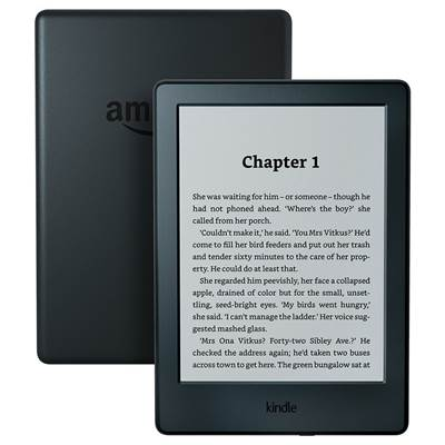 "E-Book Reader Amazon Kindle touchscreen, SO, 6"", 4GB, WiFi, črni"