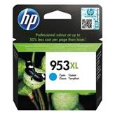 Črnilo za HP OfficeJet št. 953XL, 8210/8218/7740/8710/8715/8720/8725/8730/8740 All-in-One, cyan (F6U16AE)