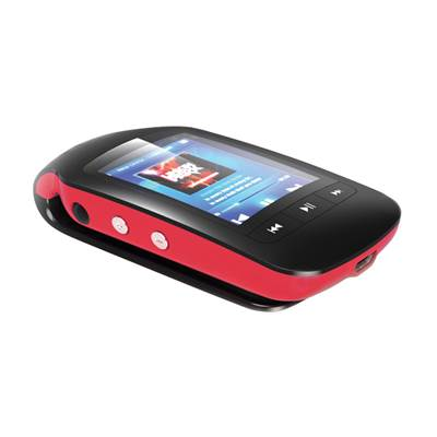 MP3 player TREKSTOR i.Beat jump BT, 8 GB, 1.8'' TFT, BT, pedometer, microSD, rdeče-črni