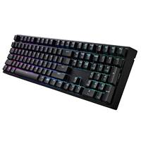Tipkovnica COOLERMASTER Masterkeys PRO L, mehanska, cherry MX brown, RGB LED, ENG, USB