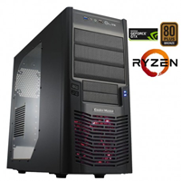 PC PCPLUS GAMER AMD R5 1400 8G WIN