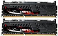 Pomnilnik PC-12800, 8 GB, G.SKILL Sniper series, F3-12800CL9D-8GBSR1 (1.35 V), DDR3 1600MHz, kit 2x4GB