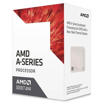 Procesor AMD A6 9500 BOX, AM4, 3.50GHz, 1MB cache, GPU R7, QuadCore