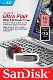 USB ključ  SANDISK 16GB USB3.0  ULTRA FLAIR