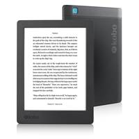 "E-Book bralnik KOBO Aura H2O touchscreen 2nd edition, 6.8"", 8GB, WiFi, črn"