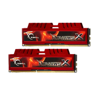 Pomnilnik PC-12800, 16 GB (2x8GB), G.SKILL Ripjaws X series, F3-12800CL10D-16GBXL, DDR3 1600MHz, kit