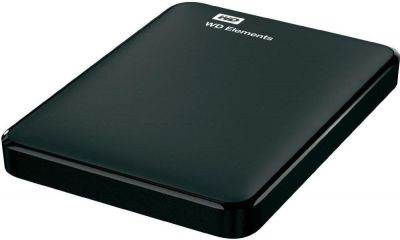"Trdi disk zunanji 750.0 GB WESTERN DIGITAL Elements Portable, WDBUZG7500ABK, USB 3.0, 2.5"", črni"
