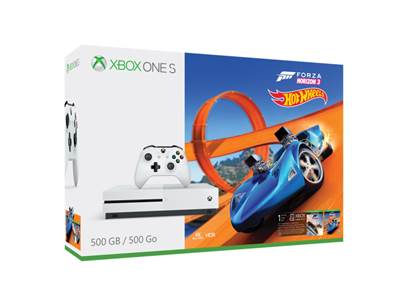 Igralna konzola Microsoft Xbox One S - Forza Horizon 3 Hot Wheels Bundle