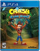 Igra za PS4, CRASH BANDICOOT N. SANE TRILOGY