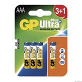 Baterija GP ULTRA PLUS LR03 3+1BL