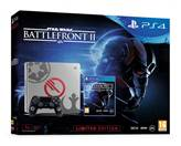 Igralna konzola SONY PlayStation 4 Limited Edition, 1TB, E Chassis, Star Wars: Battlefront II Deluxe, siv