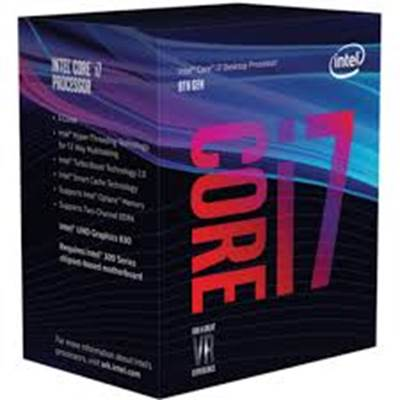 Procesor INTEL Core i7 8700 BOX, s. 1151, 3.2GHz, 12MB cache, Hexa Core