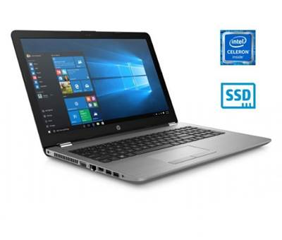 Prenosnik HP 250 G6 / Celeron N3350, DVDRW, 4GB, 128GB SSD, Intel HD Graphics, 15,6'' 1366x768 nebleščeč, VGA, HDMI, USB 3.1, LAN, Windows 10