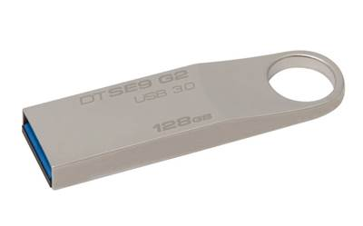 USB ključ Kingston 128GB DTSE9G, 3.0, barva šampanjca, 100MB/s (DTSE9G2/128GB)