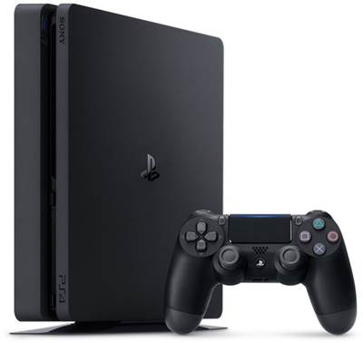 Igralna konzola SONY PlayStation 4, Slim, črna