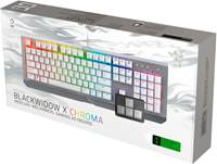 Tipkovnica Razer BlackWidow X Chroma Mercury edition, US SLO g.