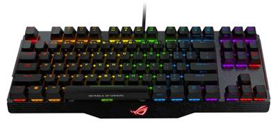Tipkovnica ASUS Claymore Core, MX Brown, RGB, USB, US SLO g.