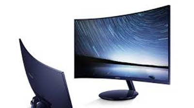 "Monitor 27"" SAMSUNG C27H580, curved, FHD, VA, 4ms, 250cd/m2,  FreeSync™, VGA, HDMI, DP, črn"