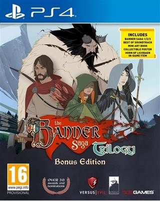 Igra za PS4, BANNER SAGA TRILOGY