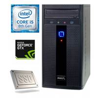 Računalnik MEGA 2000 / i5-8400 (2.8GHz), 8GB, 256GB SSD, GeForce GTX1050Ti 4GB