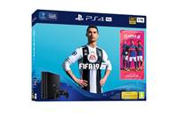 Igralna konzola SONY PlayStation 4 Pro, 1TB set + FIFA 19