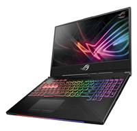 "Prenosnik ASUS GL504GM-ES155T / i7-8750H (2.2GHz), 16GB, 256 GB M.2 PCIe NVMe SSD + 1TB SSHD, GeForce 1060 6GB, 15.6"" FHD, Windows 10 Home, Črna"