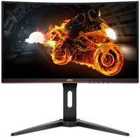 "Monitor 24"" AOC C24G1, curved, FHD, VA, 1ms, 144Hz, 250cd/m2, VGA, HDMI, DP, FreeSync™, črn"