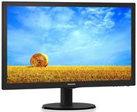 "Monitor 21.5"" PHILIPS 223V5LSB2, FHD, TN, 5ms, 250cd/m2, VGA, DVI, črn"