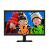 "Monitor 23.6"" PHILIPS 243V5HSBA, FHD, VA, 8ms, 250cd/m2, VGA, DVI, HDMI, črn"