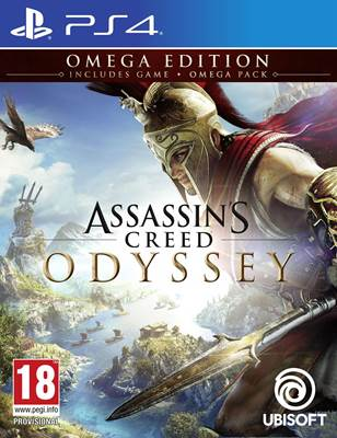 Igra za PS4, ASSASSIN'S CREED ODYSSEY GOLD EDITION