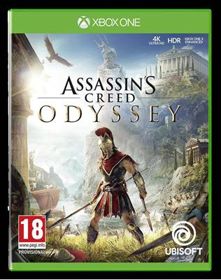 Igra za XONE, ASSASSIN'S CREED ODYSSEY STANDARD EDITION