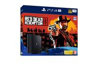 Igralna konzola SONY PlayStation 4 Pro, 1TB set + RED DEAD REDEMPTION 2 - PREDNAROČILO