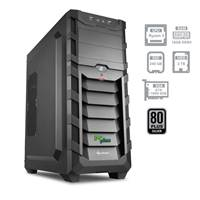 Računalnik PCPLUS Gamer / AMD Ryzen 5 2600 (3.4GHz), 16GB, 2TB + 240GB SSD, GeForce GTX 1060 6GB