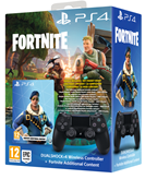 Gamepad PS4 Dualshock Controller črn + VCH Fortnite