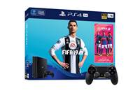 Igralna konzola SONY PlayStation 4 Pro, 1TB set + FIFA 19 + dodatni GAMEPAD PS4 DUALSHOCK