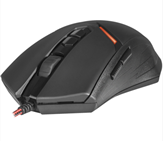 Miška REDRAGON M602 Nemeanlion, Gaming, optična, 3000dpi, črna/rdeča, USB