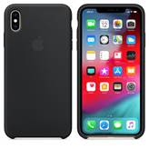 Ovitek za Apple iPhone XS, Silicone Case - črna