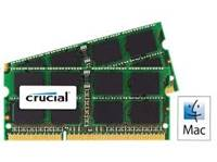 Pomnilnik SO-DIMM, 16GB, CRUCIAL, CT2C8G3S160BMCEU, DDR3, 1600MHz, kit 2x8GB, CL11