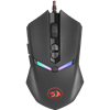 Miška REDRAGON M602-1 Nemeanlion 2, Gaming, optična, 7200dpi, črna/rdeča, USB