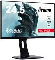 "Monitor 24.5"" IIYAMA G-MASTER GB2560HSU-B1, FHD, TN, 1ms, 144Hz, 400 cd/m2, HDMI, DP, FreeSync™, 4W zvočniki, črn"