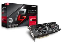 Grafična kartica PCI-E ASROCK Radeon RX 580 Phantom Gaming OC 8GB, DVI, HDMI, DP