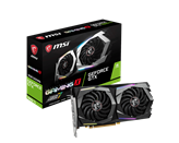 Grafična kartica PCI-E MSI GeForce GTX 1660 Ti Gaming X, 6GB GDDR6, HDMI, DP