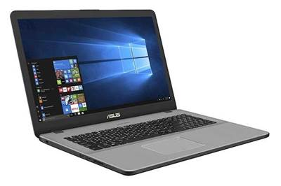 "Prenosnik ASUS VivoBook N705FN-GC008T / i5-8265U (1.6GHz), 8GB, 256GB SSD m.2 + 1TB HDD, Ge Force MX 150 2GB, 17.3"" FHD, Windows 10, Siva"