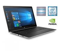 "Prenosnik HP ProBook 470 G5/ i5-8250U (1.6GHz), 8GB, 256GB NVMe SSD + 1TB HDD, GeForce 930MX 2GB, 17.3"" FHD IPS, Windows 10 Home, srebrna"