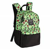 "Nahrbtnik JINX MINECRAFT 16"" Scatter Creeper backpack, zelen"