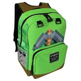 "Nahrbtnik JINX MINECRAFT 18"" Pickaxe Adventure backpack, zelen"