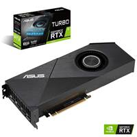Grafična kartica PCI-E ASUS Turbo GeForce RTX 2070 8GB EVO GDDR6, TURBO-RTX2070-8G-EVO, HDMI, DP