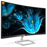 "Monitor 27"" PHILIPS 278E9QJAB, Curved, FHD, VA, 4ms, 250cd/m2, 6W zvočniki, VGA, DP, HDMI, FreeSync, črn"