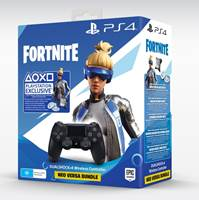Gamepad PS4 Dualshock Controller v2 črn + 500 VBucks Fortnite