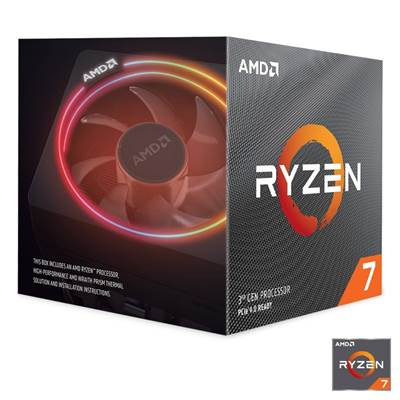 Procesor AMD Ryzen 7 3800X, s. AM4, 3.9/4.5 GHz, 36MB cache, 8-Core/16-Thread, Wraith Prism RGB LED Hladilnik